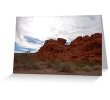 Earth, Sky... Valley of Fire Greeting Card