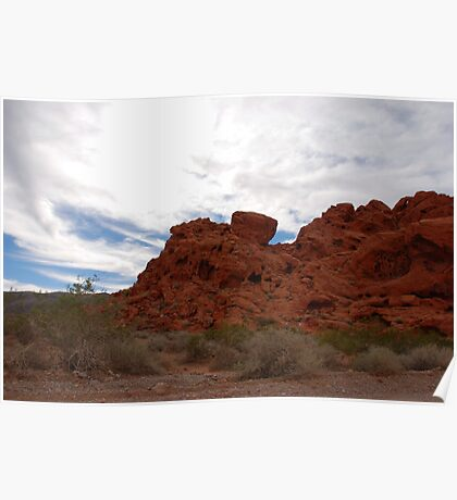 Earth, Sky... Valley of Fire Poster