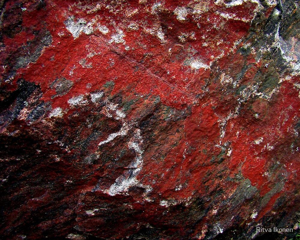 Red Rock by Ritva Ikonen