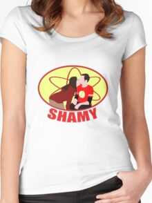 Shamy Women's Fitted Scoop T-Shirt