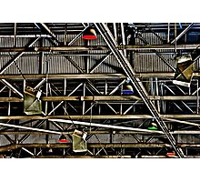 Industrial Chaos Photographic Print