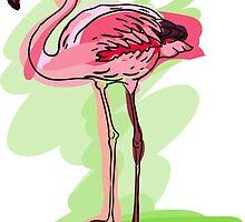 flamingo by OlgaBerlet