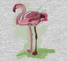flamingo Baby Tee