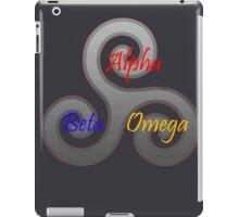 Alpha/Beta/Omega Triskele iPad Case/Skin