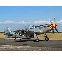 P-51D Mustang 44-74427/G4-C  F-AZSB Photographic Print