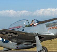 P-51D Mustang 44-74427/G4-C  F-AZSB Sticker