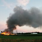 hay barn fire by firefly14