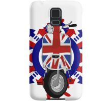 Retro sixties style scooter art Samsung Galaxy Case/Skin