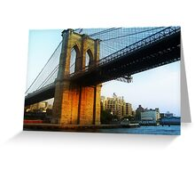 The Brooklyn from the Water Greeting Card