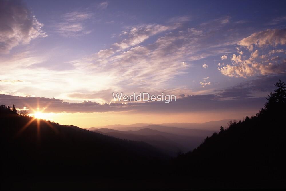 Smoky Mountain Daybreak by William C. Gladish, World Design