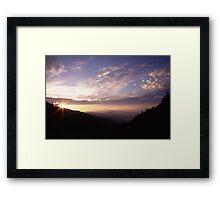 Smoky Mountain Daybreak Framed Print