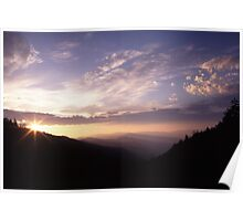 Smoky Mountain Daybreak Poster