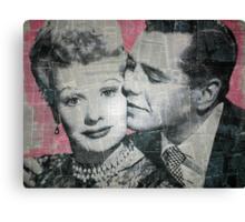 Lucy & Desi Canvas Print
