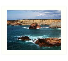 Algarve coastline Art Print