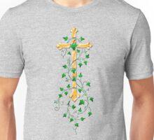 Gold Cross Unisex T-Shirt