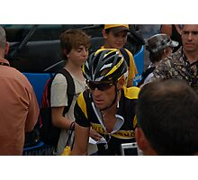 LANCE ARMSTRONG Photographic Print