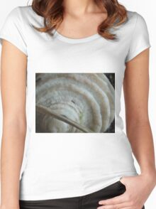 Shell  Women's Fitted Scoop T-Shirt