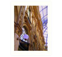 Milan - Galleria Vittorio Emanuele II Art Print