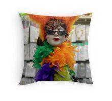 Fashion Queen Throw Pillow