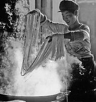 Boil  noodles , Turpan  China by yoshiaki nagashima