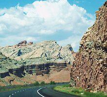 Utah Road by Camilla Wall