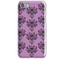 Haunted Mansion Wallpaper!  iPhone Case/Skin