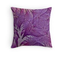 Lavender Lavish Throw Pillow