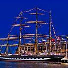 Sail Boston - Kruzenshtern  by LudaNayvelt