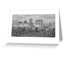 The Battle of Lexington Greeting Card