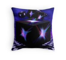 Cube Explosion Throw Pillow