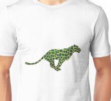 Leopard Black and Green Print Unisex T-Shirt