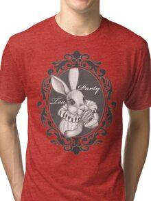 Rabbit Tea Party Tri-blend T-Shirt