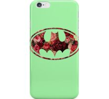 Floral Batman iPhone Case/Skin