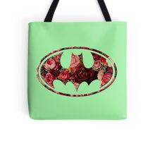 Floral Batman Tote Bag