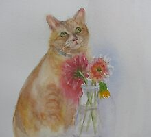 In Memory of Marmalade by bevmorgan