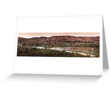 Flinders Ranges Panoramas-6 Greeting Card