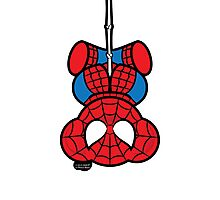 Spider-Bear Photographic Print