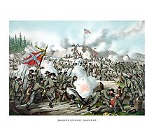 Battle of Fort Sanders -- Civil War Photographic Print