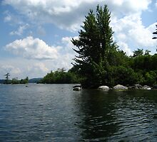 """Squam Lake, NH = """"On Golden Pond"""" !!!  (movie location!) by maxy"""