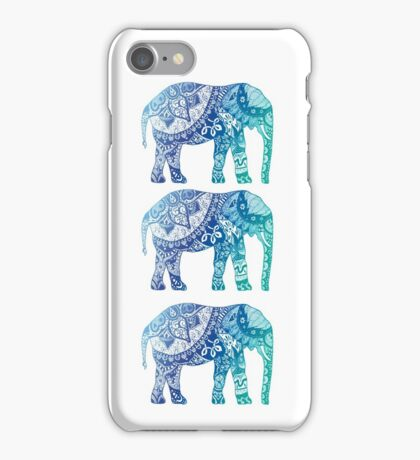 Blue Elephant iPhone Case/Skin