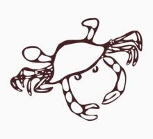 Brown Crab Kids Clothes