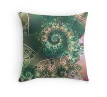 Spiral of Life Throw Pillow
