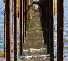 Under The Old Jetty,Grantville by Peter Rowley