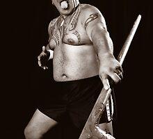Maori guy by idphotography