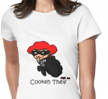 Cookeh Theif Womens Fitted T-Shirt