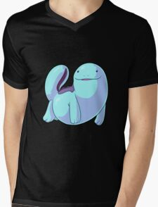 The Swimming Quag Mens V-Neck T-Shirt