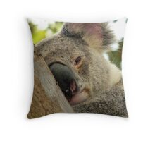 Mr Coy Throw Pillow