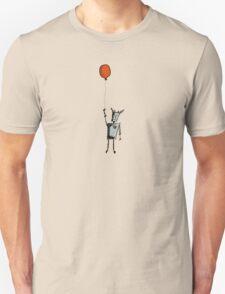 Sad Robot: Red Balloon Unisex T-Shirt