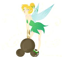 Tinkerbell and the Mickey Bar by SalemWorks