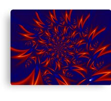 Neutrino Rush Canvas Print